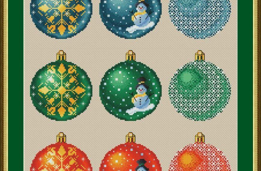 Projekt spoločného vyšívania vianočných ozdôb